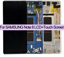 Genuine Samsung Galaxy Note 8, N950 F, FD, fits DUOS as well  Lcd Assembly VAT