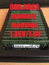 8GB DDR3 1600MHz laptop memory modules