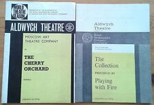 Selection of individual Aldwych Theatre programmes 1960s, programme