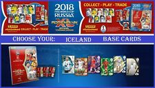 Adrenalyn XL FIFA WORLD CUP RUSSIA 2018 ICELAND Base Cards Panini