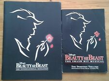 Individual Beauty and the Beast programmes 1990s, Dominion Theatre programme