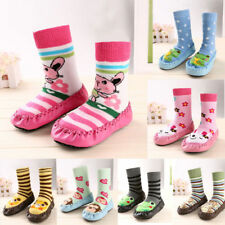 Baby Toddler Kids Cartoon Anti-slip Sock Shoes Boots Slipper Socks 6-24 Months