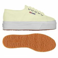 SUPERGA 2790 zeppa 4cm Scarpe DONNA 2790ACOTW acotw up and down GIALLO New XDYod