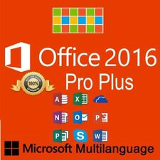 - Microsoft Office Professional PLUS 2010/2013/2016 1 a 5 pc clave por email