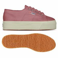 SUPERGA 2790 zeppa 4cm Scarpe DONNA 2790ACOTW LINEA UP AND DOWN Acotw dusty C06f