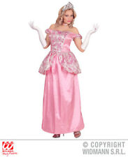 Womens Ladies Pink Fairy Tale Princess Fancy Dress Costume Outfit Adult