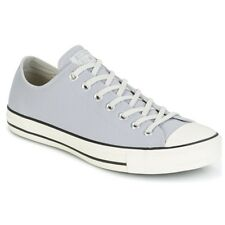 Scarpe uomo Converse  CHUCK TAYLOR ALL STAR COATED LEATHER OX WOLF GREY/BLACK...