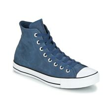 Scarpe uomo Converse  Chuck Taylor All Star Hi Fashion Leather  Blu Cuoio  ...