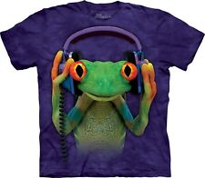 The Mountain Adulte Animaux Grenouille DJ Peace T Shirt