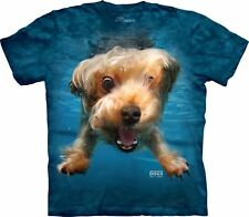 The Mountain Adult Underwater Dog Brady Seth Casteel T Shirt