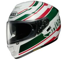 CASCO INTEGRALE SHOEI GT AIR IN FIBRE MULTI COMPOSITE AIM PRIMAL TC 4 ITALY FLAG