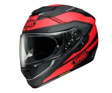 CASCO INTEGRALE SHOEI GT AIR IN FIBRE MULTI COMPOSITE AIM SWAYER TC 1 NERO ROSSO