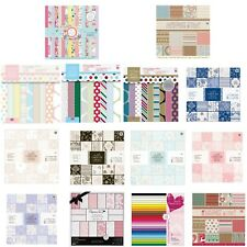"Dovecraft First Edition scrapbooking paper 6"" x 6"" full pack sample Papermania"