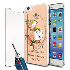 DISNEY Mrs Potts Chip LA BELLA E LA BESTIA CUSTODIA COVER TELEFONO