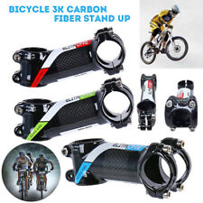 Aluminum Carbon Fiber Mountain MTB Bike Bicycle Cycling Handlebar Stem 31.8mm UK