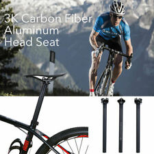 Carbon Fiber MTB Road Bike Bicycle Seat Saddle Post Seatpost Tube 27.2 30.8 31.6