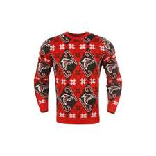Forever Collectibles NFL Atlanta Falcons Candy Cane Ugly Sweater