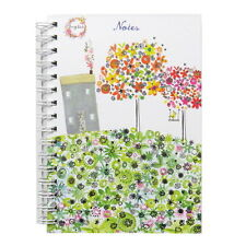A5 Daisy Patch Wirebound Notebooks - Daisy Patch House or Owls. 130 Pages, Ruled
