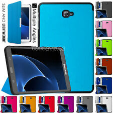 """Premium Leather Smart Stand Case Heavy Job Cover Samsung Galaxy Tab A 10.1"""" Inch"""