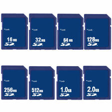 SD Card 16M 32M 64MB 128M 256M 512MB 1GB 2GB Secure Digital Sdandard