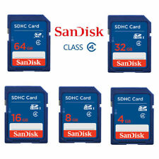 SanDisk 4GB 8GB 16GB 32GB SD SDHC Standard Class 4 Ultra Memory with Card Reader