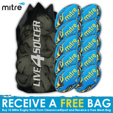 Mitre Cub 10 Rugby Ball Deal Plus FREE Bag