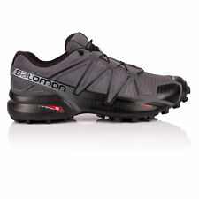 Salomon Mens SPEEDCROSS 4 Trail Running Shoes Trainers Sneakers Grey Sports