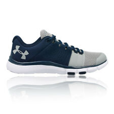 Under Armour Mens Strive 7 Training Gym Fitness Shoes Blue Navy Sports