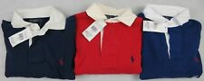 Ralph Lauren Rugby T-shirt Custom Fit Long Sleeve Brand New With Tag
