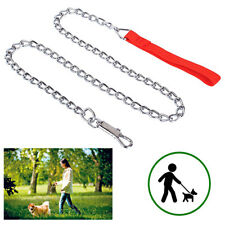 Leash Chain Dogs With Handle 1 M Hook Animals For Collar Dog 636