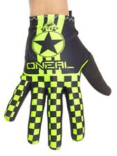 ONeal Black-Neon Yellow 2017 Matrix Wingman MTB Gloves