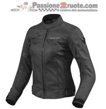 Chaqueta de motociclista mujer Rev'it Revit Eclipse señora Negro black