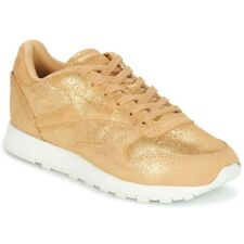Sneakers   Scarpe donna Reebok Classic  CLASSIC LEATHER SHIMMER  Oro Cuoio ...