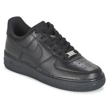 Sneakers   Scarpe donna Nike  AIR FORCE 1 '07 W  Nero Cuoio 4139917