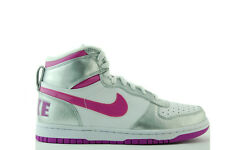 Nike Big Nike High LE (Gs) SNEAKERS PELLE BIANCA SCARPE NUOVE