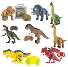 RC Dinosaur Remote Control Dinosaur Walking Dinosaur Lights Up With Sounds Gift