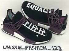 ADIDAS NMD HUMAN RACE X PHARRELL HOLI HU TR PW 6 7 8 9 10 11 TRAIL BLACK PURPLE