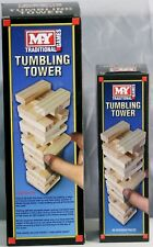 New Wooden Stacking Tumbling Tower Traditional Family Game Jenga Board Game