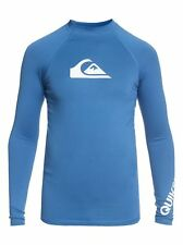 Quiksilver All Time Long Sleeve Youth Rash Vest Rash Vest Top Surf New