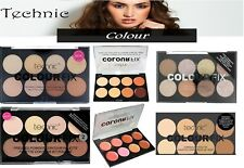 Technic Colour Fix Blush Bronze Palette Concealer Correct & Cream Contour Powder