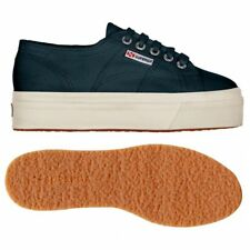SUPERGA 2790 zeppa 4cm Scarpe DONNA ACOTW up and down Blu Prv/Est 2790ACOTW 933g