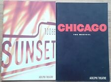 Selection of individual Adelphi Theatre programmes 1990s, programme