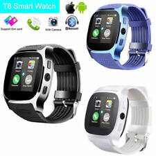 Latest Model 2018 T8 Bluetooth Smart Watch Phone Wrist watch for Android and iOS
