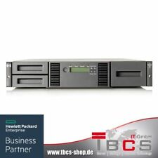HPE StoreEver MSL2024 0-Drive Tape Library P/N: AK379A