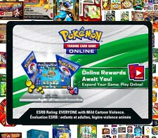 BONUS / PROMO / BOX / TIN Pokemon Online CODE CARDS ~ RAPID TCG Email Codes TCGO