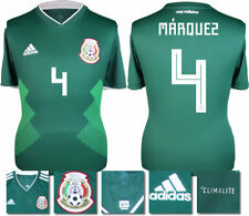 MARQUEZ 4 - MEXICO HOME 2018 WORLD CUP ADIDAS SHIRT SS = ADULTS