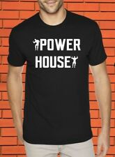 Power House Muscles Builders Heavy Weight Lifter Gym Fitness Crossfit T shirt