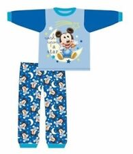 Boys Baby Infants Disney Official Mickey Mouse Pyjamas PJs 6-24 Months New