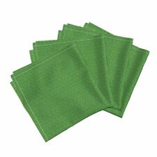 Robot Binary Code Green Numbers Cotton Dinner Napkins by Roostery Set of 4
