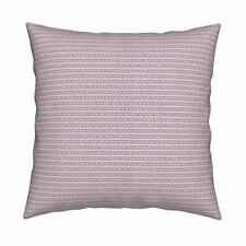 Robot Binary Code Numbers Math Throw Pillow Cover w Optional Insert by Roostery